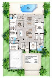 mediterranean house plans with pool 29 mediterranean house plans with pool