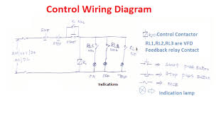 vfd start stop wiring diagram electrical4u vfd start stop here mcb uses to control the input supply into the circuit