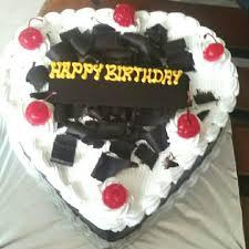 Jual Kue Ulang Tahun Birthday Cake Love Coklat Tempel Parut Coklat