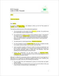 Sample Employment Offer Letter Template What Is Included In A Job Offer Letter With Samples Guides