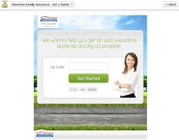 auto insurance quote fast the american family insurance facebook page