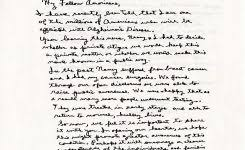 lot detail ronald reagan signed copy of his 1994 handwritten throughout ronald reagan alzheimers letter 34wba5ps72wb1dma0o5hje