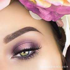 bright purple smokey eye for spring and summer pretty eye makeup green eyes makeup