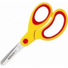 <b>Ножницы</b> детские <b>Kores Softgrip</b> 13 см с пластиковыми ...
