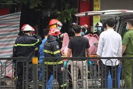 Cháy nhà ở cửa hàng đồ sơ sinh Tôn Đức Thắng, 4 người tử vong
