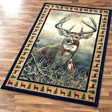 deer area rugs wildlife rugs delectably yours majestic whitetail deer area rug by united rustic bass deer area rugs