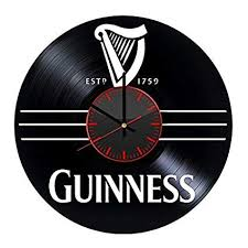tania guinness vinyl record wall clock unique gifts for him her gift ideas for mothers day