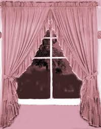 criss cross source 95 sheer priscilla panel pair with attached valance ellis curtain