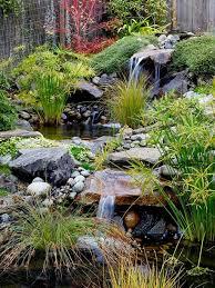 Terrace and Garden: Amazing Backyard Waterfall Ideas - Backyard Waterfalls