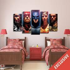 dc comics canvas wall art 8