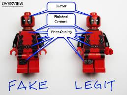 Bricknowlogy Mind Alert 3 Fraud - Minifigures Your Fake lego Figs Build