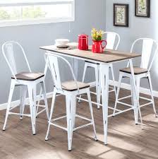 industrial counter height table. Industrial Counter Height Table 5 Piece Dining Set Diy D