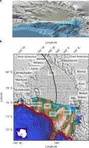 Union Reservoir Depth Chart Ross Ice Shelf Response To Climate Driven By The Tectonic
