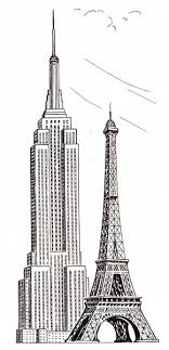 eiffel tower size the simpleton quite big