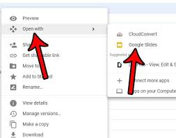 Google Docs Powerpoint Convert Powerpoint To Google Slides Solve Your Tech