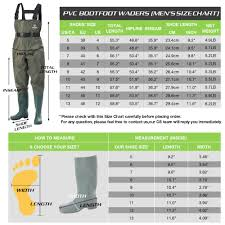 White River Waders Size Chart Fishingsir Chest Fishing Waders Hunting Bootfoot With Wading Belt Waterproof Nylon Pvc Cleated Wading Boots For Men Women