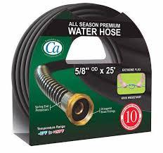 25 foot garden hose. all season premium 5/8-inch x 25 ft. garden hose foot n
