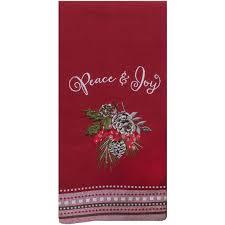 Dee Design Kitchens Kay Dee Designs Peace And Joy Tea Towel Kitchen Tabletop