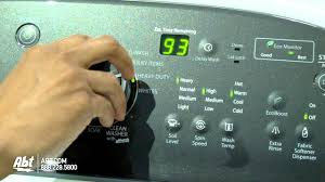 How Does A High Efficiency Washer Work Whirlpool Cabrio High Efficiency Top Loading Washer Youtube