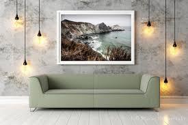 coastal print california wall art decor