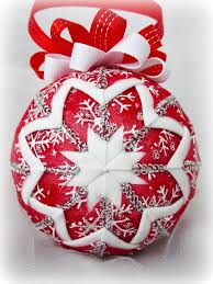 quilted christmas tree ornaments on styrofoam balls - Google ... & quilted christmas tree ornaments on styrofoam balls - Google Search Adamdwight.com