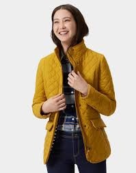 Joules Women's Newdale Quilted Jacket with Printed Lining in ... & Image is loading Joules-Women-039-s-Newdale-Quilted-Jacket-with- Adamdwight.com