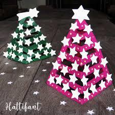 Hattifants 3d Paper Christmas Trees Hattifant