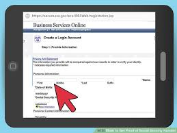 Of 9 Security Social Get Proof Steps To Number How