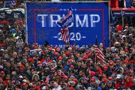 Diehard Trump supporters gather in DC ...