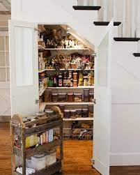 The space under the stairs is usually wasted or stuff is chucked under them, but i wanted a nicely organized pantry. 17 Unique Under The Stairs Storage Design Ideas Extra Space Storage