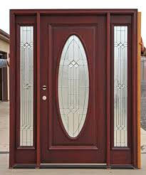 Exterior Wrought Iron With Stained Fiberglass Doors Exterior - Exterior door stain