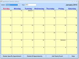 Appointment Calander New Appointment Calendar Software Downloads