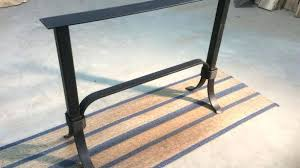 tall furniture legs cool tall table on console base steel sofa legs accent tall wooden table