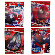 While coloring spiderman is more ideal for your elder kids, these are also a great way of developing motor skills in your younger child. Kappa The Amazing Spider Man Activity Books Collection 4 Pack Two Coloring Activity Books And Two Paint By Water Walmart Com Walmart Com