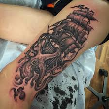 60 Best Kraken Tattoo Meaning And Designs Legend Of The Sea 2019