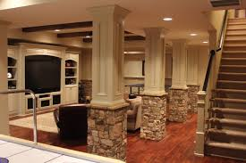 Column Molding Ideas Lally Columns Home Theater Google Search Basement Ideas