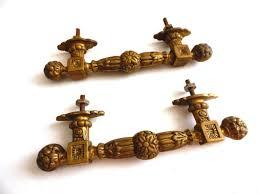 antique door hardware. UpperDutch:Hooks And Hardware,Set Of 2 Antique Brass Cabinet Pulls, Piano Handles Door Hardware