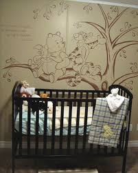 classic winnie the pooh for baby nursery decor