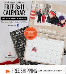 8x11 Calendar Shutterfly Free 8x11 Calendar Just Pay Shipping Frugal