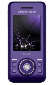 sony ericsson slide phone. sony s500i ice (o2 unlocked) purple slider gsm cell phone ericsson slide