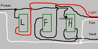 bathroom fan switch wiring Bathroom Light Fan Wiring Diagram Hunter Ceiling Fan Light Wiring Diagram