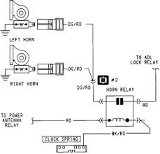 horn relay wire diagram wiring diagram schematics baudetails info vx wiring diagram nodasystech com