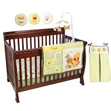 disney pooh and tigger bizzy bees crib bedding