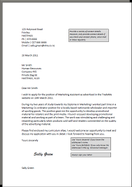 covering letter job application examples cover letter