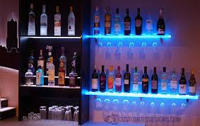 Led Floating Glass Shelves LED Wine Glass Racks Are Finally Here 53