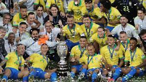Brasilien vs argentinien copa america. Copa America Brasilien Jubelt Wieder Sport Dw 08 07 2019