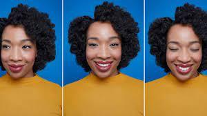 heatless curls for short natural hair