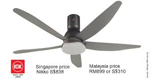 kdk ceiling fan with light singapore ideas