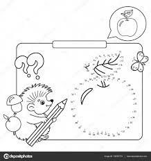 Giochi Educativi Per Bambini Gioco Di Numeri Apple Disegni Da
