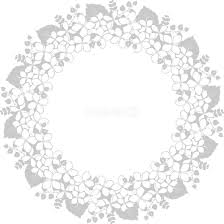 ナチュラルな葉 おしゃれ 正円 丸 フレーム枠イラスト無料フリー85567